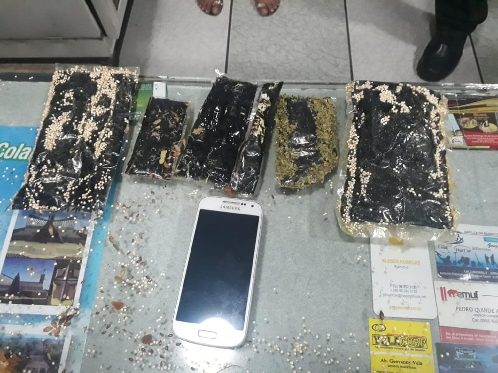 GOM decomisa 358 gramos de cocaína