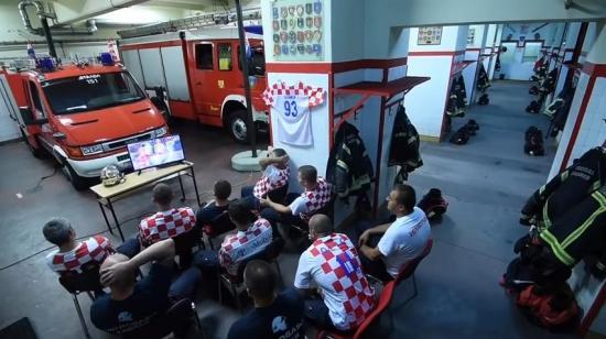 La verdad sobre el viral vídeo de la estación de bomberos de Croacia