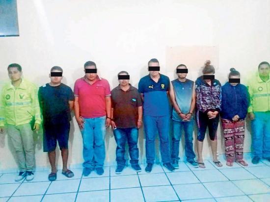 Portoviejo: Siete detenidos por el robo registrado ayer en Portoaguas