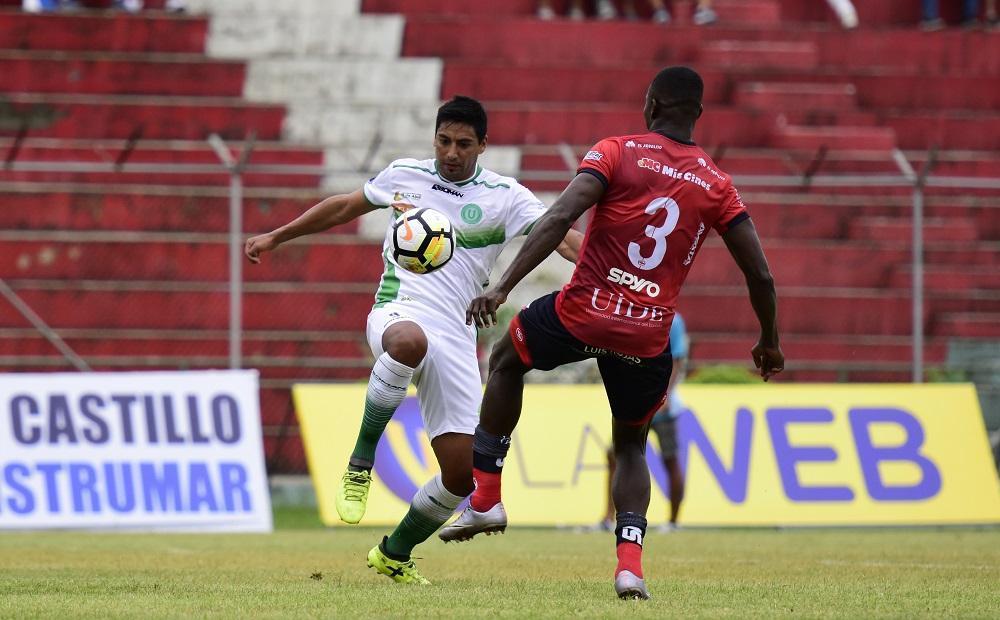 Liga de Portoviejo saborea una derrota como visitante de 1-0 frente a Clan Juvenil