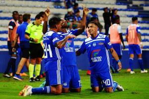 Un triunfo agónico: Emelec ganó con la mínima diferencia ante El Nacional