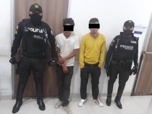 GOM detiene a dos presuntos ladrones