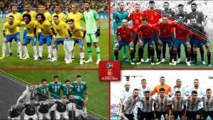 Los equipos que fracasaron en el Mundial de Rusia 2018