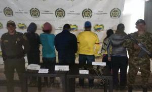 Incautan en Colombia más de una tonelada de cocaína y dos ecuatorianos entre los detenidos