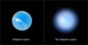 Un nuevo sistema óptico logra captar imágenes muy precisas de Neptuno