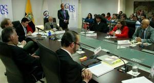 Vocal cesada del Consejo Electoral acepta decisión del Consejo de Participación Transitorio