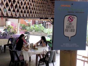Restaurantes de Portoviejo dejan de usar sorbetes