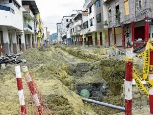 Multa por atraso en soterramiento en la Zona de Portoviejo