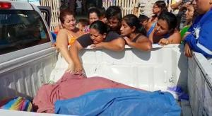 Mujer muere arrollada en Ceibo Renacer, en Manta