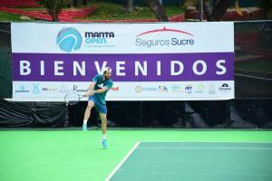 Empezó el torneo de tenis Manta Open