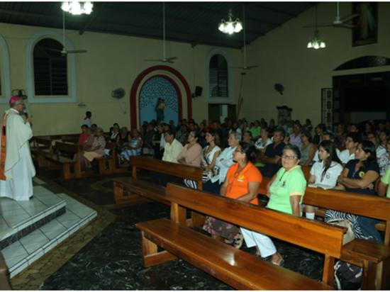 En La Estancilla  volvieron a la misa  en templo renovado