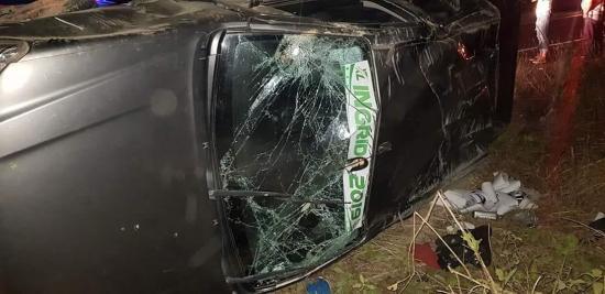 Hombre muere en un accidente de tránsito en la vía Bahía de Caráquez-Charapotó