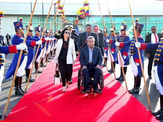 Moreno fue a Europa a 'fortalecer relaciones'