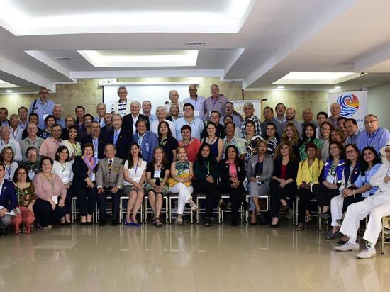 Representantes de seis países participaron en el taller del Rotary Club