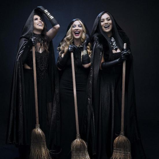 """Marián, Dora y Karin serán unas """"brujas"""""""