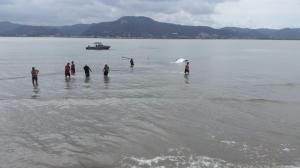Velero se hunde frente a las costas de Bahía de Caráquez