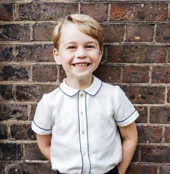 Publican una nueva fotografía del príncipe Jorge en su quinto cumpleaños