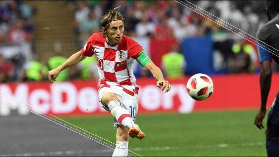 Luka Modric, pasó a ser de refugiado a estrella mundial