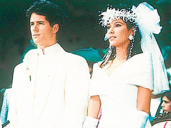 'Cachos' en el día de su boda