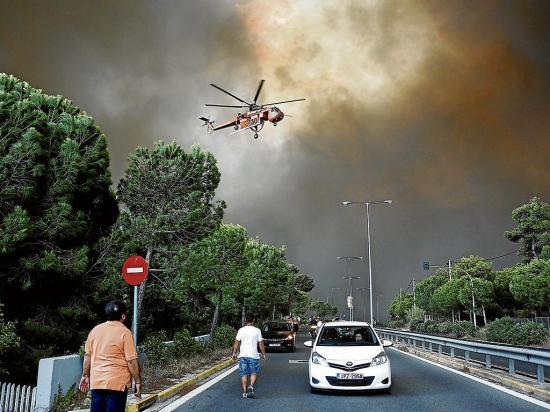 En alerta por siete incendios