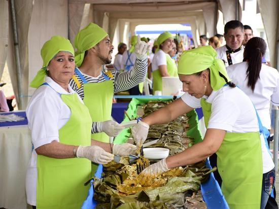 Festival de la hayaca en Estancia Vieja vendió más de 800 porciones
