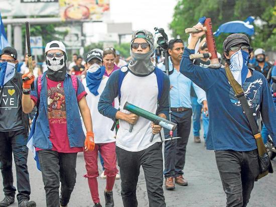 Los sandinistas también mueren en protestas