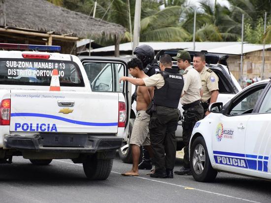 Rocafuerte: labor policial da frutos