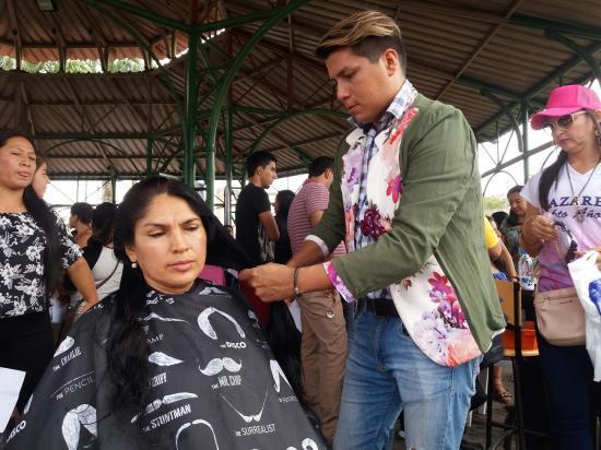500 mujeres donaron cabello
