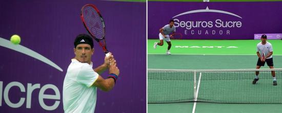 El guayaquileño Emilio Gómez, semifinalista del Manta Open