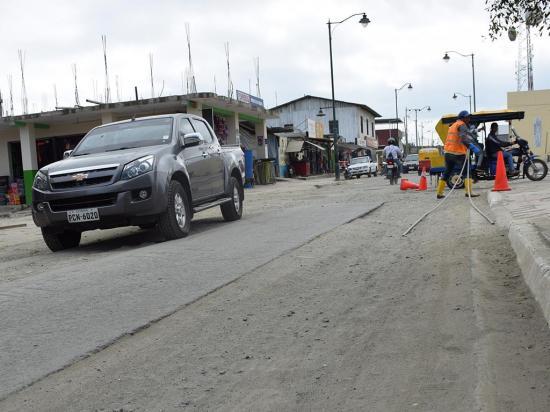 Soterramiento dañó las calles