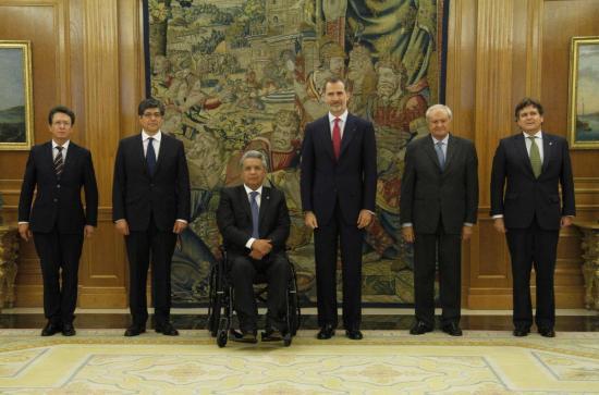 Felipe VI y Moreno examinan cooperación bilateral y asuntos iberoamericanos