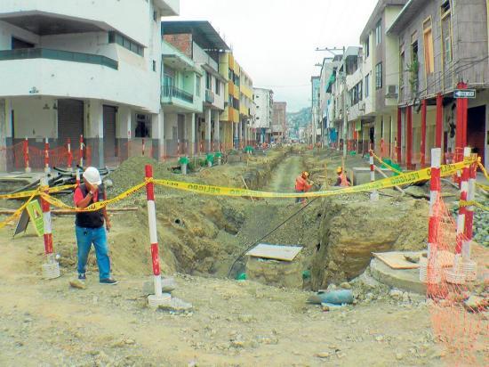 Portoviejo: Soterramiento no estará en diciembre