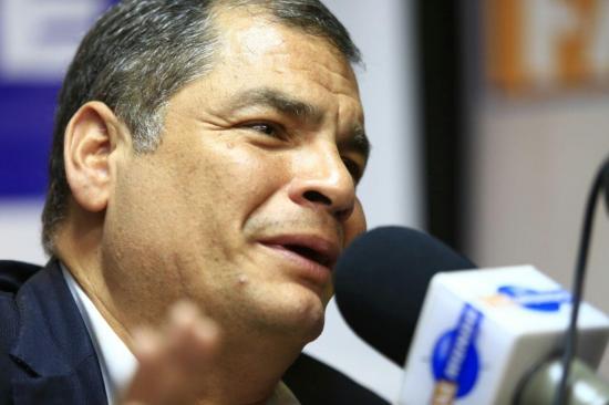 Rafael Correa dice que Moreno es un ''mentiroso compulsivo'' tras discurso en Madrid