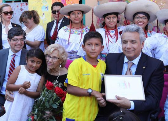 Presidente Moreno ofreció a inversores lucha contra corrupción y seguridad
