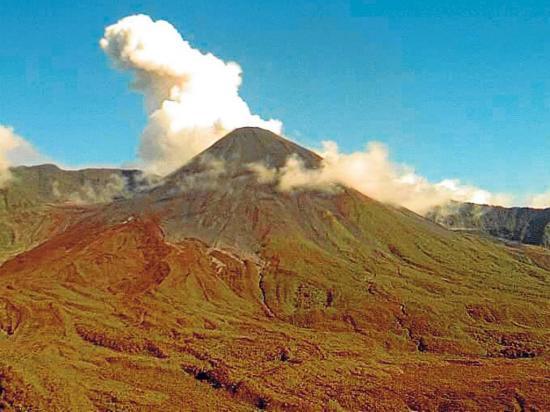 El Instituto Geofísico  alerta de alta actividad en el volcán Reventador