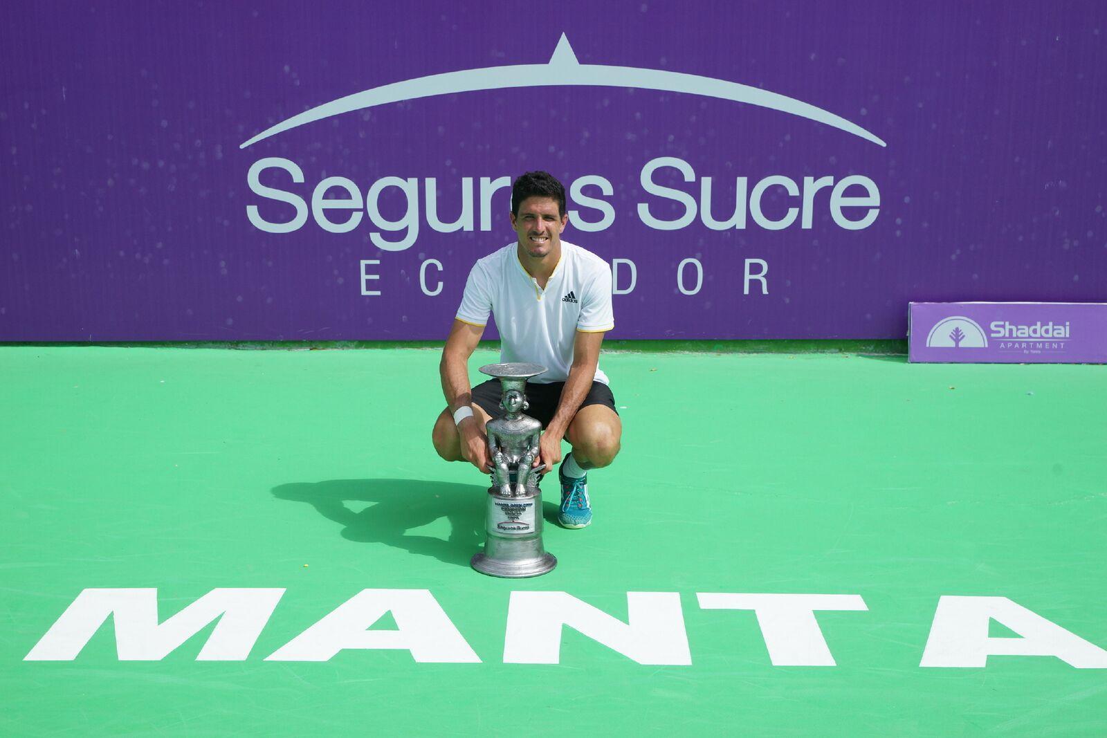 Emilio Gómez se coronó campeón del Manta Open