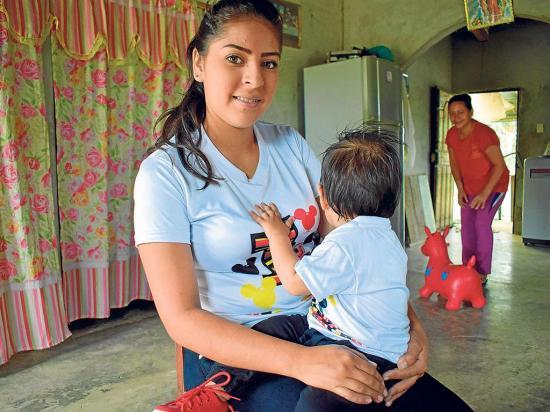 Su bebé estuvo secuestrado durante nueve días