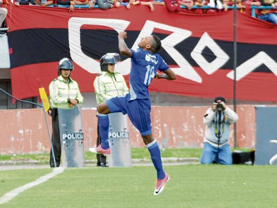 Ayrton Preciado fue del Deportivo del Valle un día