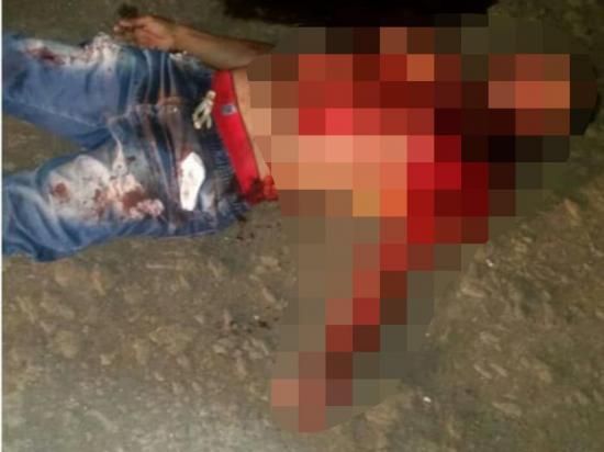 Un hombre fue asesinado a bala por encapuchados