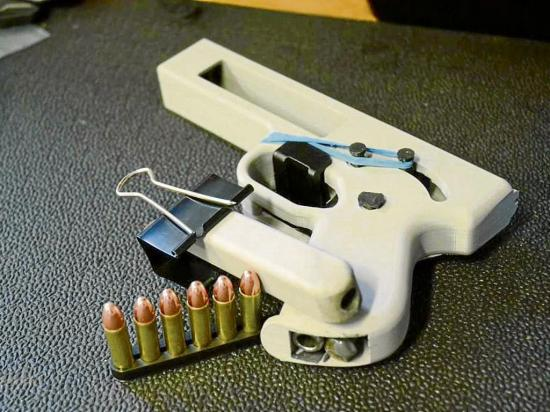 Hoy se revelan los planos para la impresión de armas