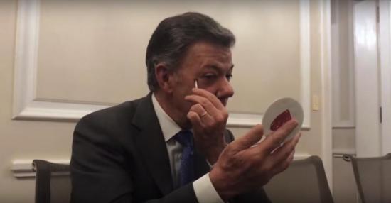 Juan Manuel Santos dejará la presidencia de Colombia y... ¿se convertirá en youtuber?