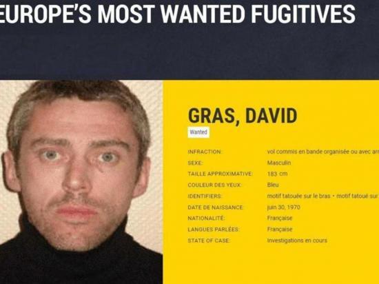 Se entrega a la Policía francesa uno de los más  buscados en Europa
