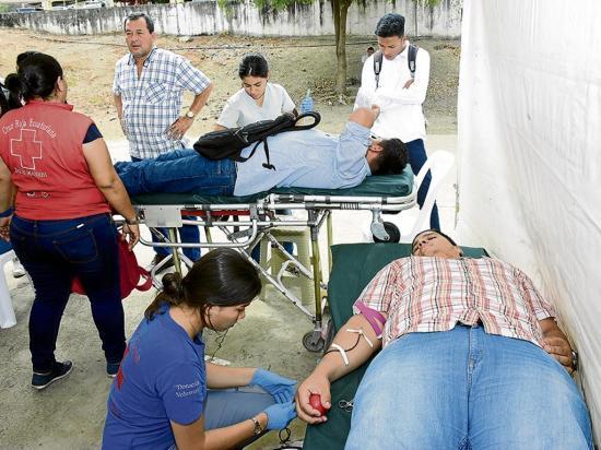 Campaña busca reunir de 300 a 400 pintas de sangre