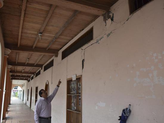 Convento de San Agustín en riesgo