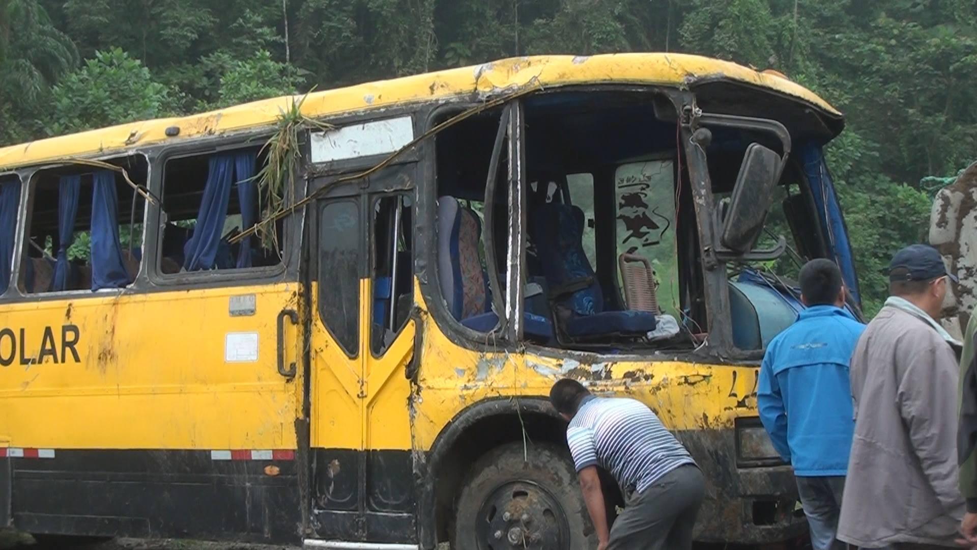 Vuelco dejó 26 personas heridas