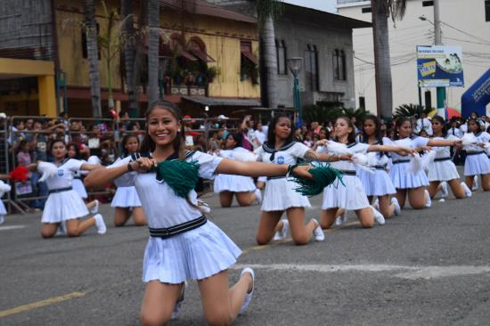 Fiesta y baile en Palenque