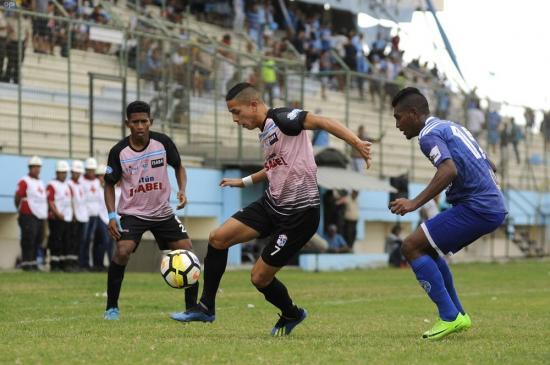 El Manta cae por la mínima diferencia ante Santa Rita en el estadio Jocay