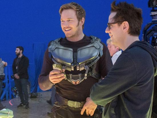 James Gunn queda  fuera de 'Guardianes  de la Galaxia Vol.3'