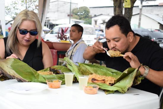 Deliciosa feria en San Camilo