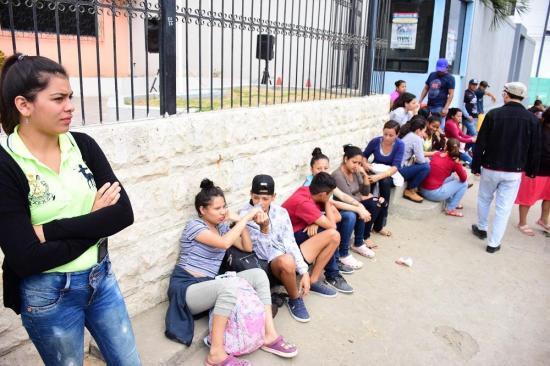 Cientos de mujeres acuden a nivel nacional al llamado para el acuartelamiento